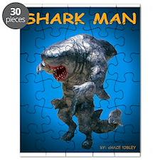 Chace Lobleys Shark man. Puzzle