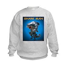 Chace Lobleys Shark man. Kids Sweatshirt