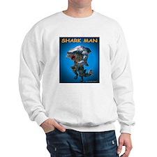 Chace Lobleys Shark man. Sweatshirt