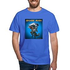 Chace Lobleys Shark man. Dark T-Shirt