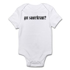 Got Sauerkraut Infant Creeper