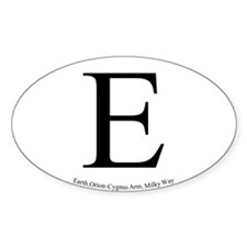Earth Sticker 2 (Oval)