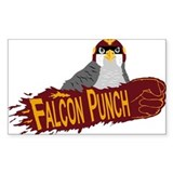 Falcon Punch Bumper Stickers