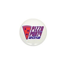 Join the Pizza Party Mini Button (10 pack)
