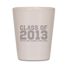 2013 Graduation Shot Glass