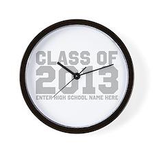 2013 Graduation Wall Clock