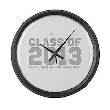 2013 Graduation Large Wall Clock