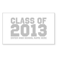 2013 Graduation Decal