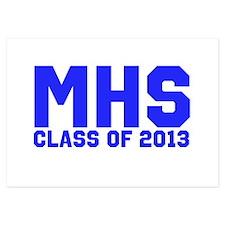 2013 Graduation 3.5 x 5 Flat Cards