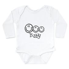 The Baby (3) Long Sleeve Infant Bodysuit