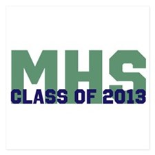 2013 Graduation 5.25 x 5.25 Flat Cards