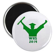 "2014 Graduation 2.25"" Magnet (10 pack)"