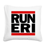 RUN ERI Square Canvas Pillow