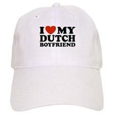 I Love My Dutch Boyfriend Baseball Cap