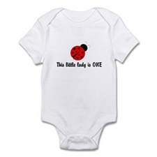 First Birthday Ladybug Infant Bodysuit