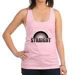 Straight Rainbow Racerback Tank Top