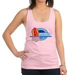 Weiner Underwear - Grey Brief Racerback Tank Top