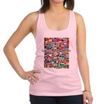 Let the Games Begin Racerback Tank Top