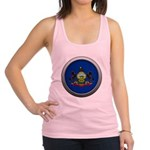 Round Flag - Pennsylvania Racerback Tank Top