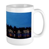 Boathouse Row, Nighttime Panoramic Mug