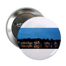 "Boathouse Row, Nighttime Panoramic 2.25"" Button"