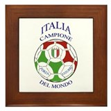 Cute Campione Framed Tile