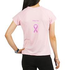I Run for Nana Pink Ribbon Breast Cancer Dry Shirt