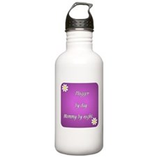 Blogger by day Mommy by night Water Bottle