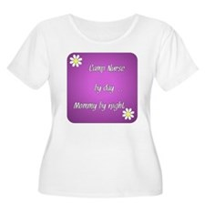 Camp Nurse by day Mommy by night T-Shirt