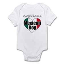 Everyone Loves Mexican Boy Infant Bodysuit