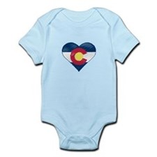 I Love Colorado Infant Bodysuit