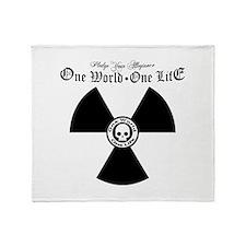 One World One Life Allegiance Throw Blanket