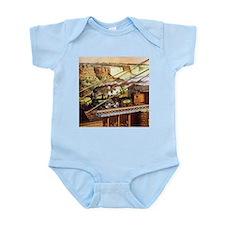 Vintage Train Infant Bodysuit