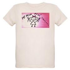 My mom beat breast cancer T-Shirt