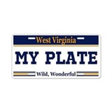 West Virginia - Wild, Wonderful - Current plate