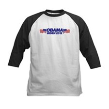 OBAMA BIDEN 2012 (w/ flags) Tee