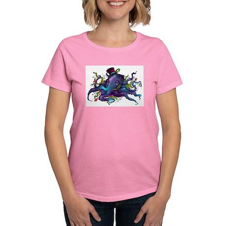Skull and Roses Women's Dark T-Shirt