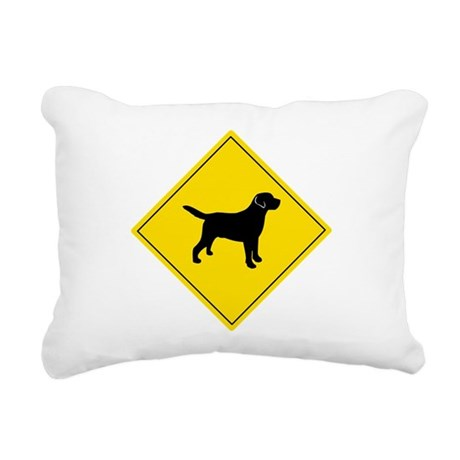 Boarding Lab Rectangular Canvas Pillow