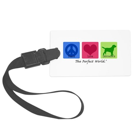 Peace Love Labs Large Luggage Tag