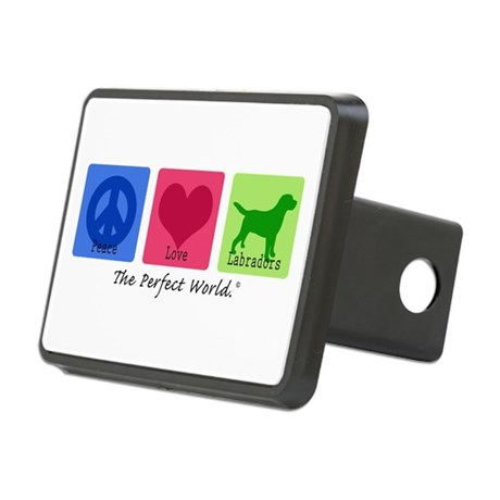 Peace Love Labs Rectangular Hitch Cover