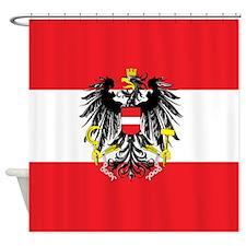 Austria State Flag Shower Curtain