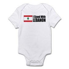 Stand With Lebanon Infant Creeper