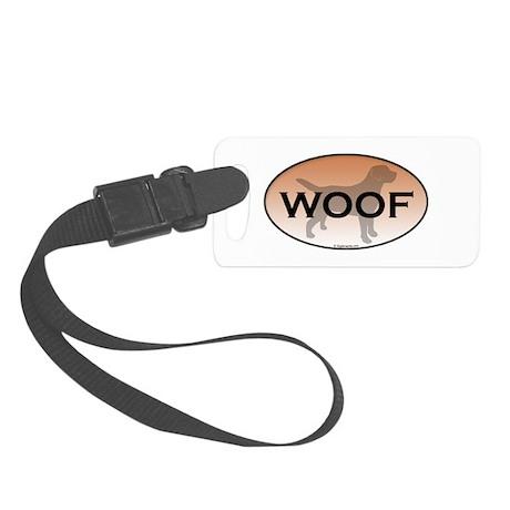 Labrador Woof Small Luggage Tag