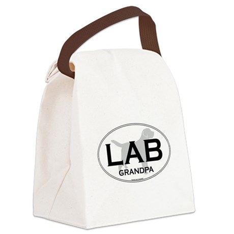 LAB GRANDPA II Canvas Lunch Bag