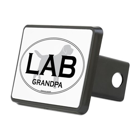 LAB GRANDPA II Rectangular Hitch Cover