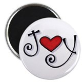 "Joy 2.25"" Magnet (10 pack)"