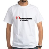 Szivemben - Men's T-shirt (white)