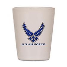 USAF 3 Diamond Symbol Shot Glass