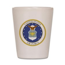 USAF Coat of Arms Shot Glass