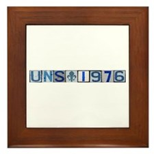UNS 1976 Framed Tile